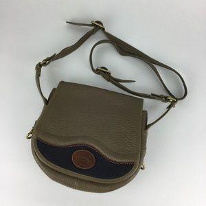 Vintage Dooney & Bourke Crossbody Flap Bag